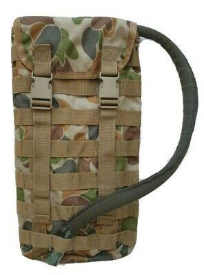 Tas Hydration Pouch Molle 3699 Auscam + Free!! 2Lt Wide Mouth Bladder -Mil Spec