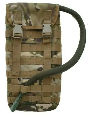 Tas Hydration Pouch Molle Multicam + Free!! 2Lt Wide Mouth Bladder -Aus Mil Spec