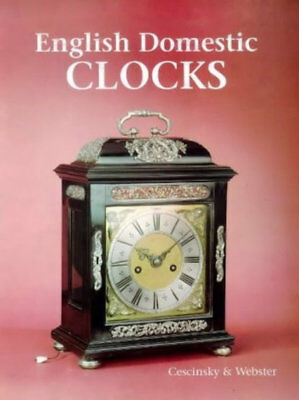 English Domestic Clocks, Cescinsky, 0902028375, New, (Antique Clocks)