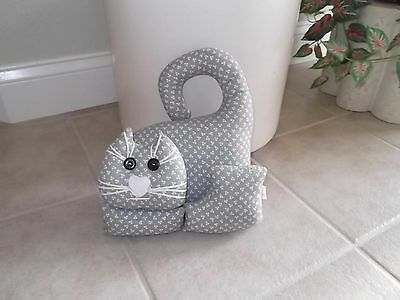 Cat Decorative Figural Pillow, Cat Shaped Pillow
