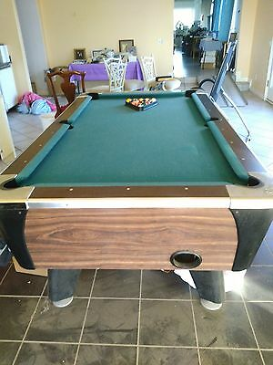 Dynamo  7 ft. coin op pool table  #PT104 Never used commercially