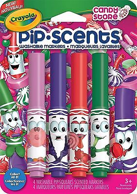 Crayola Pip Scents Markers - Candy Store - 4 pack