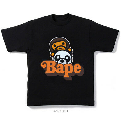 6a730a29 A BATHING APE x HEAD PANDA BABY MILO MECHANIC TEE BLACK BAPE T-SHIRT SIZE