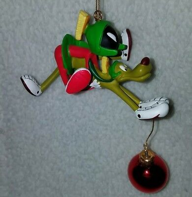 Marvin the Martian and K9 Christmas Ornament 2000 Warner Bros Studio Store