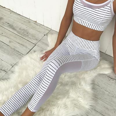 Yoga Gym Trousers Leggings Fitness Jogging Running Sports Pants Womens Workout