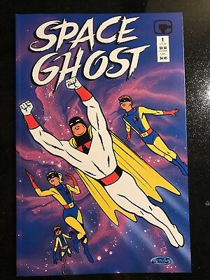 Space Ghost TPB (1987 Comico) super condition, Steve Rude