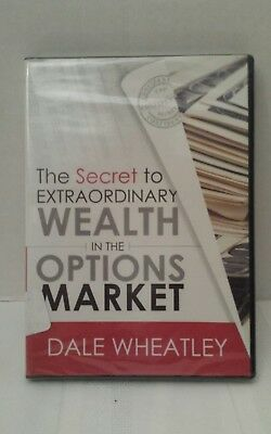 NEW (details) The Secret to Extraordinary Wealth in the Options Market 4 DVDs