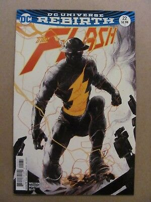 Flash #22 The Button Porter Variant 1st Print DC Rebirth 9.6 Near Mint+