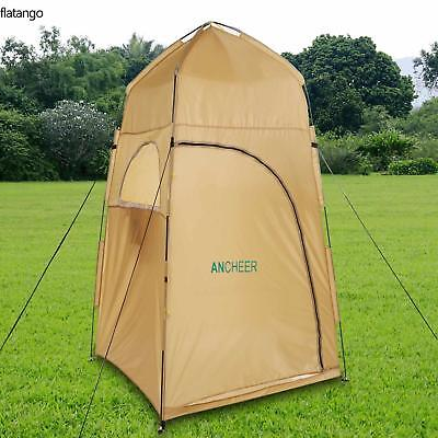 Toilet Shower Changing Beach Camping Tent Room Portable Pop Up Private Travel UK
