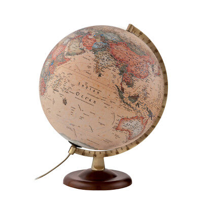 NEW Atmosphere Classic A4 Antique Illuminated Globe
