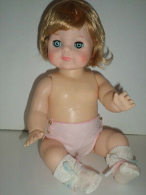 1965 Vogue 13' GINNY ANGEL BABY DOLL! ROOTED HAIR, VINYL BODY BLUE EYES NOS! NEW