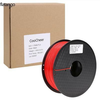 3D Printer Filament PLA 1Kg 1.75MM Roll Pack For Huxley Makerbot UP Leapfrog