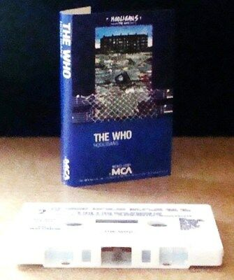THE WHO      - HOOLIGANS -                            Cassette Tape