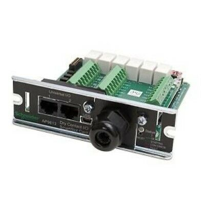 NEW APC AP9613 DRY CONTACT I/O SMARTSLOT CARD....b.