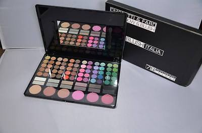 blush italia make up palette 72 ombretti 6 blush