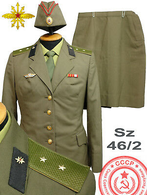 RARE Original Soviet SCS military WOMAN's Daily uniform