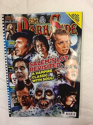 The Dark Side Magazine Issue 186 Sept 2017 Salems Lot Revisited Vampire Classic