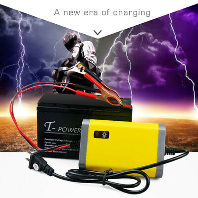12V 2A Smart Automatic Motorcycle Battery Charger Power Charger Power Supply Set