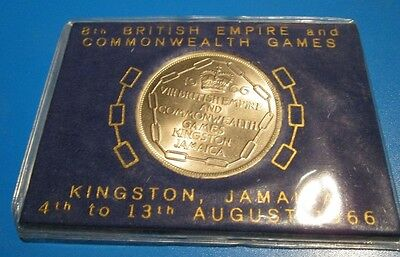 Jamaica Five Shillings Coin Commonwealth Games Kingston August 1966