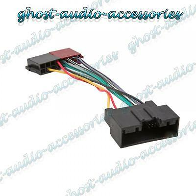 ford fiesta car stereo radio iso wiring harness connector adaptor cable loom