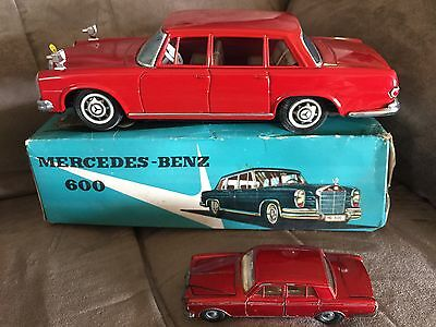 Vintage SS Made In Japan MERCEDES BENZ 600 Tin Car $500 Or 1st Offer At A Steel?
