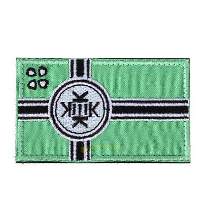KEK Flag Tactical Hook & Loop Army Embroidery Badges Morale Embroidered Pat SS6