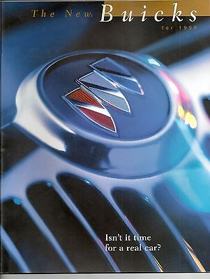 1998  Buick  Brochure  for Full Line of Cars 26 pages Park Avenue Rivera Regal