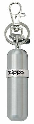 Zippo Fuel Canister with Key Ring, High Polished Silver, 121503, New In Box