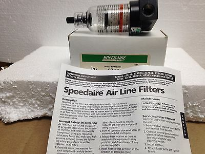 Lot of 3 Speedaire 2Z766C Air Line Filter Separator