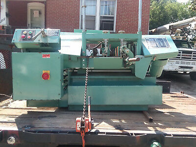 Metal band saw, 480 3fz, 1986 very few hours, EXELENT CONDITIONS, CNC MANUFACTUR