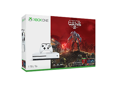 Microsoft Xbox One S 1TB incl. Halo Wars 2