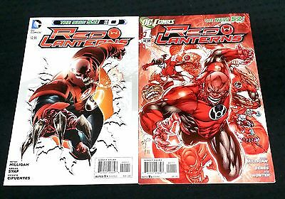 Red Lantern New 52 #0 Ardian Syaf and #1 Ed Benes DC comics VF/FN