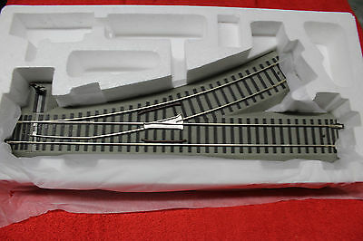 "49883 S Gauge Fastrack 54"" R27 Left Hand Manual Switch Brand New In Box"