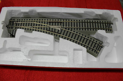 "49884 S Gauge Fastrack 54"" R27 Right Hand Manual Switch Brand New In Box"