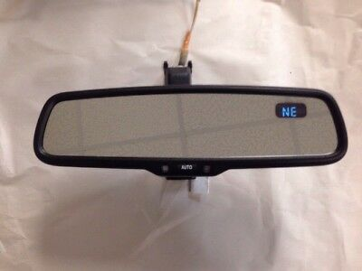 07 11 Toyota Camry Used Interior Rear View Mirror Black 8781006051