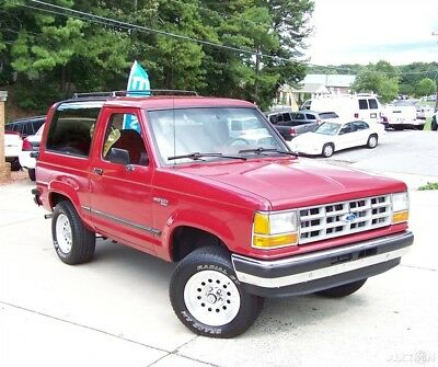 1990 Ford Bronco II XLT 4x4 2.9L V6 5-SPEED GA WAGON SINCE NEW 2 HARP ALL STOCK QUALITY ORG PAINT 4WD ZERO RUST COLD AC PWR PKG TILT CRUISE SUV