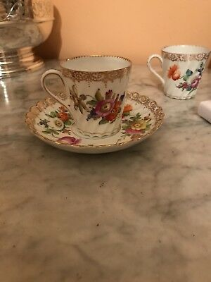 Dresden Porcelain Coffee Cups