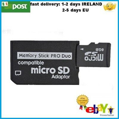 Converter Micro SD SDHC TF to Memory Stick MS Pro Duo Adapter