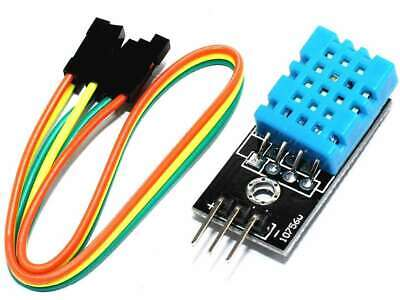 Temperature Humidity Sensor 16bit 1-wire digital interface, Arduino library