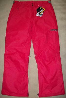 """Bnwt Mens' Red """"thinsulate"""" Snowboard Pants Size Extra Extra Large Ladies Unisex"""