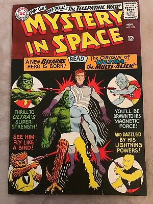Mystery In Space Comic Book #103, DC Comics 1965 Beautiful condition