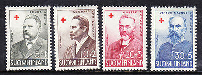 Finland Red Cross 1956 set 567/70 Mint Never Hinged