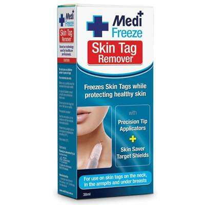 Medi Freeze Skin Tag Remover 38ML Use on Neck Armpits Under Breasts