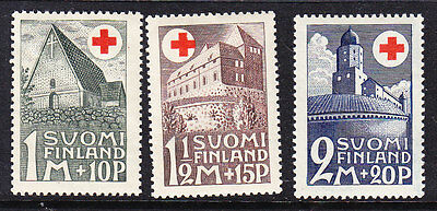 Finland Red Cross 1931 set 282/4  Mint Light Hinged
