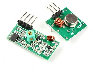 433 MHz Wireless Transmitter Receiver Kit for Micro Controller Arduino etc #0835