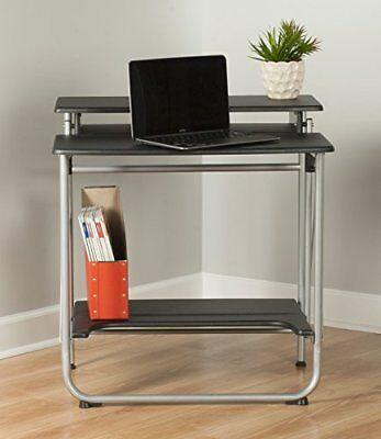 Computer desk home office pc laptop table laptop small spaces furniture modern