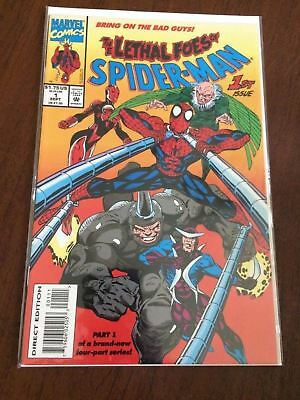 Marvel Comics Spider-Man The Lethal Foes Of Spider-Man #1 1993