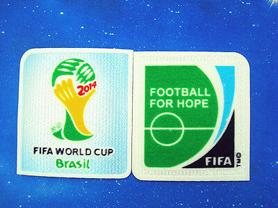 2014   FIFA World Cup BRAZIL  Soccer Patch / Flock Football Badge badge / patch