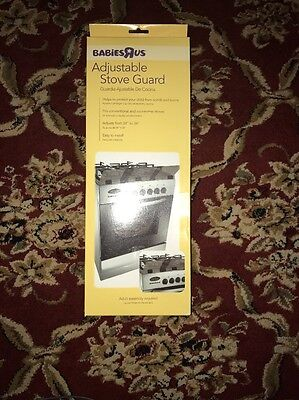 Babies R Us Baby Adjustable Stovetop Oven Stove Guard - 26027 A8