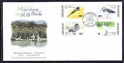 Hong Kong 1997 Migratory Birds First Day Cover
